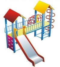 Детский игровой комплекс Два брата