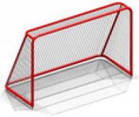 Ворота хоккейные с сеткой
