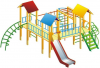Детский игровой комплекс Джунгли городок